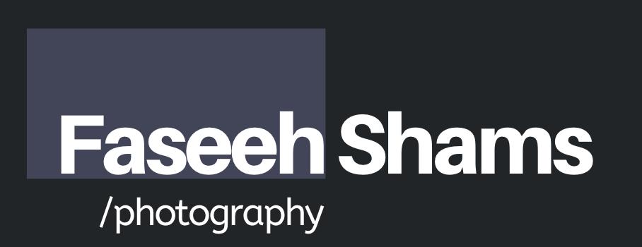 Faseeh Shams